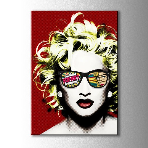 Marilyn Monroe Pop Art Kanvas Tablo
